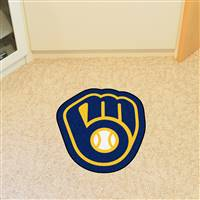 "Milwaukee Brewers Mascot Mat 30"" x 31.9"""