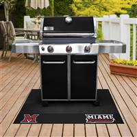 "Miami University (OH) Grill Mat 26""x42"""