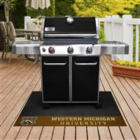 "Western Michigan University Grill Mat 26""x42"""