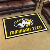 "Michigan Tech University 4x6 Rug 44""x71"""