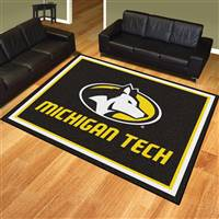 "Michigan Tech University 8x10 Rug 87""x117"""