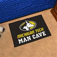 "Michigan Tech University Man Cave Starter 19""x30"""