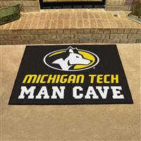 "Michigan Tech University Man Cave All-Star 33.75""x42.5"""