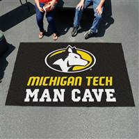 "Michigan Tech University Man Cave UltiMat 59.5""x94.5"""