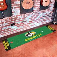 "Michigan Tech University Putting Green Mat 18""x72"""