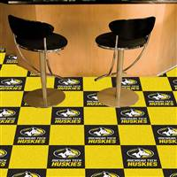 "Michigan Tech University Team Carpet Tiles 18""x18"" tiles"