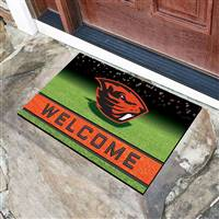 "Oregon State University Crumb Rubber Door Mat 18""x30"""