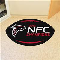 "NFL - Atlanta Falcons Football Mat 20.5""x32.5"""