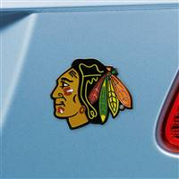 "NHL - Chicago Blackhawks Color Emblem  2.7""x3.2"""