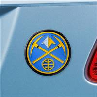 "NBA - Denver Nuggets Color Emblem  3""x3.2"""
