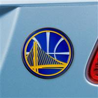 "NBA - Golden State Warriors Color Emblem  2.7""x3.2"""