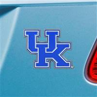 "University of Kentucky Color Emblem  2""x3.2"""