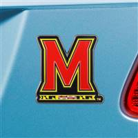 "University of Maryland Color Emblem  3.1""x3.2"""