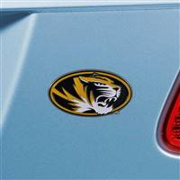 "University of Missouri Color Emblem  1.8""x3.2"""