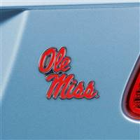 "University of Mississippi (Ole Miss) Color Emblem  3""x3.2"""