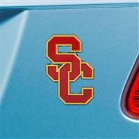 "University of Southern California Color Emblem  3""x3.2"""