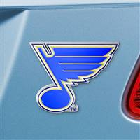 "NHL - St. Louis Blues Color Emblem  3""x3.2"""