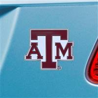 "Texas A&M University Color Emblem  2.6""x3.2"""