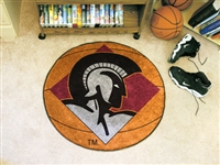 "Arkansas-Little Rock Trojans Basketball Rug 29"" Diameter"