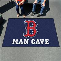 "Boston Red Sox Man Cave Ultimat 59.5""x94.5"""