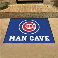 "Chicago Cubs Man Cave All-Star 33.75""x42.5"""