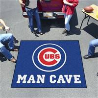 "Chicago Cubs Man Cave Tailgater 59.5""x71"""