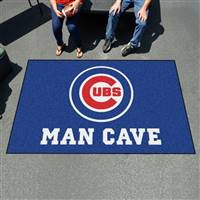 "Chicago Cubs Man Cave Ultimat 59.5""x94.5"""