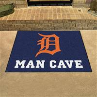 "Detroit Tigers Man Cave All-Star 33.75""x42.5"""