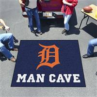 "Detroit Tigers Man Cave Tailgater 59.5""x71"""