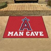 "Los Angeles Angels Man Cave All-Star 33.75""x42.5"""