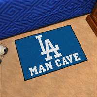 "Los Angeles Dodgers Man Cave Starter 19""x30"""