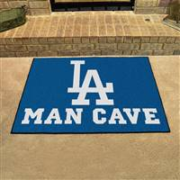 "Los Angeles Dodgers Man Cave All-Star 33.75""x42.5"""