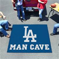 "Los Angeles Dodgers Man Cave Tailgater 59.5""x71"""