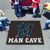 "Miami Marlins Man Cave Tailgater 59.5""x71"""