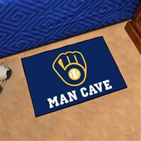 "Milwaukee Brewers Man Cave Starter 19""x30"""