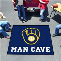 "Milwaukee Brewers Man Cave Tailgater 59.5""x71"""