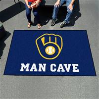 "Milwaukee Brewers Man Cave Ultimat 59.5""x94.5"""