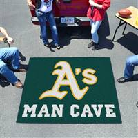 "Oakland Athletics Man Cave Tailgater 59.5""x71"""