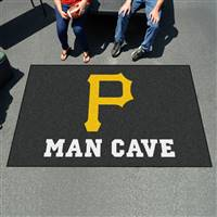 "Pittsburgh Pirates Man Cave Ultimat 59.5""x94.5"""