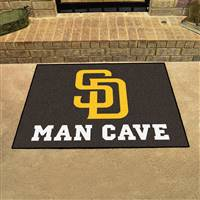 "San Diego Padres Man Cave All-Star 33.75""x42.5"""