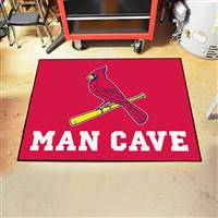 "St. Louis Cardinals Man Cave All-Star 33.75""x42.5"""