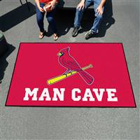 "St. Louis Cardinals Man Cave Ultimat 59.5""x94.5"""