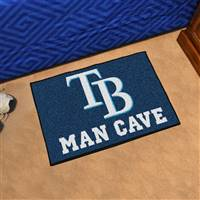 "Tampa Bay Rays Man Cave Starter 19""x30"""