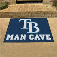 "Tampa Bay Rays Man Cave All-Star 33.75""x42.5"""