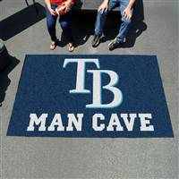 "Tampa Bay Rays Man Cave Ultimat 59.5""x94.5"""