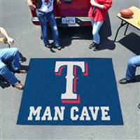 "Texas Rangers Man Cave Tailgater 59.5""x71"""