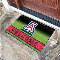"University of Arizona Crumb Rubber Door Mat 18""x30"""