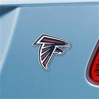 "NFL - Atlanta Falcons Color Emblem3""x3.2"""