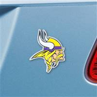 "NFL - Minnesota Vikings Color Emblem3""x3.2"""