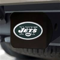 "NFL - New York Jets Color Hitch Cover - Black3.4""x4"""